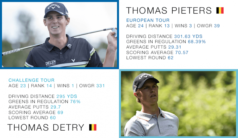 The Rise of Belgian Golf - Thomas Pieters and Thomas Detry