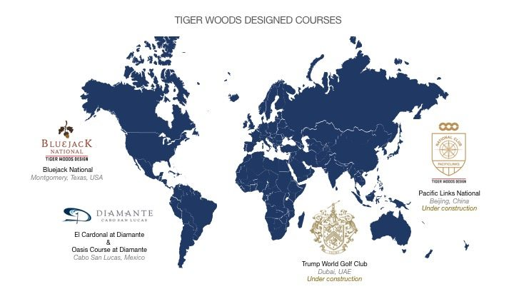 Tiger Woods Designed Courses