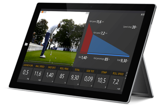 Trackman Putting Be the Boss on the Moss - Tech Thursday
