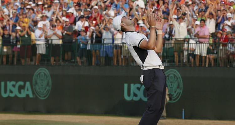 Martin Kaymer US Open 2014 Pinehurst No. 2