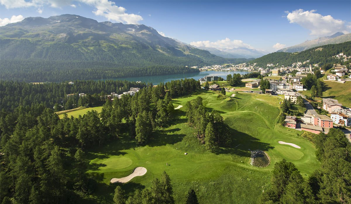 """3 courses you must play in St. Moritz – Golf at the """"top of the world"""""""