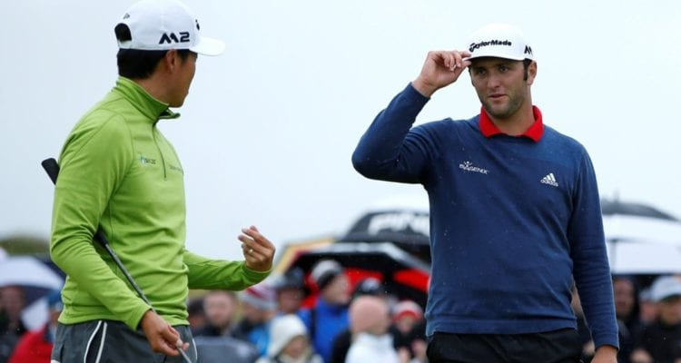 Daniel Im and Jon Rahm