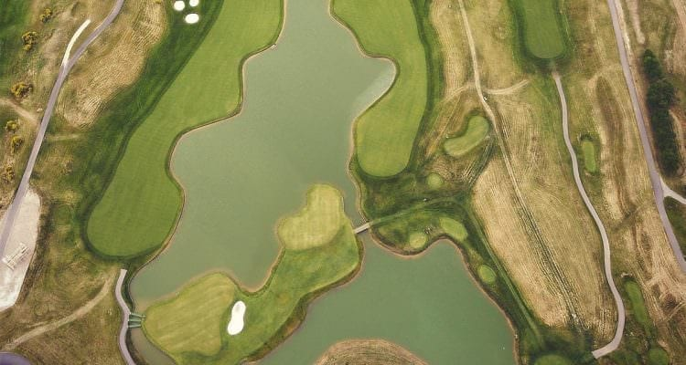 Golf National from above