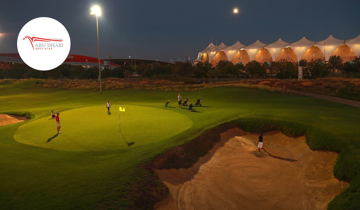 Abu Dhabi Golf Club Night