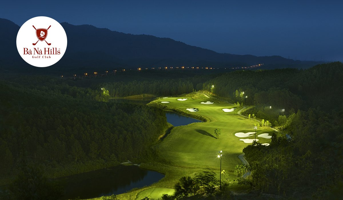 Ba Na Hills Golf Club by Night