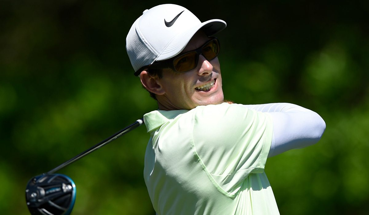 Dylan Frittelli at The Masters