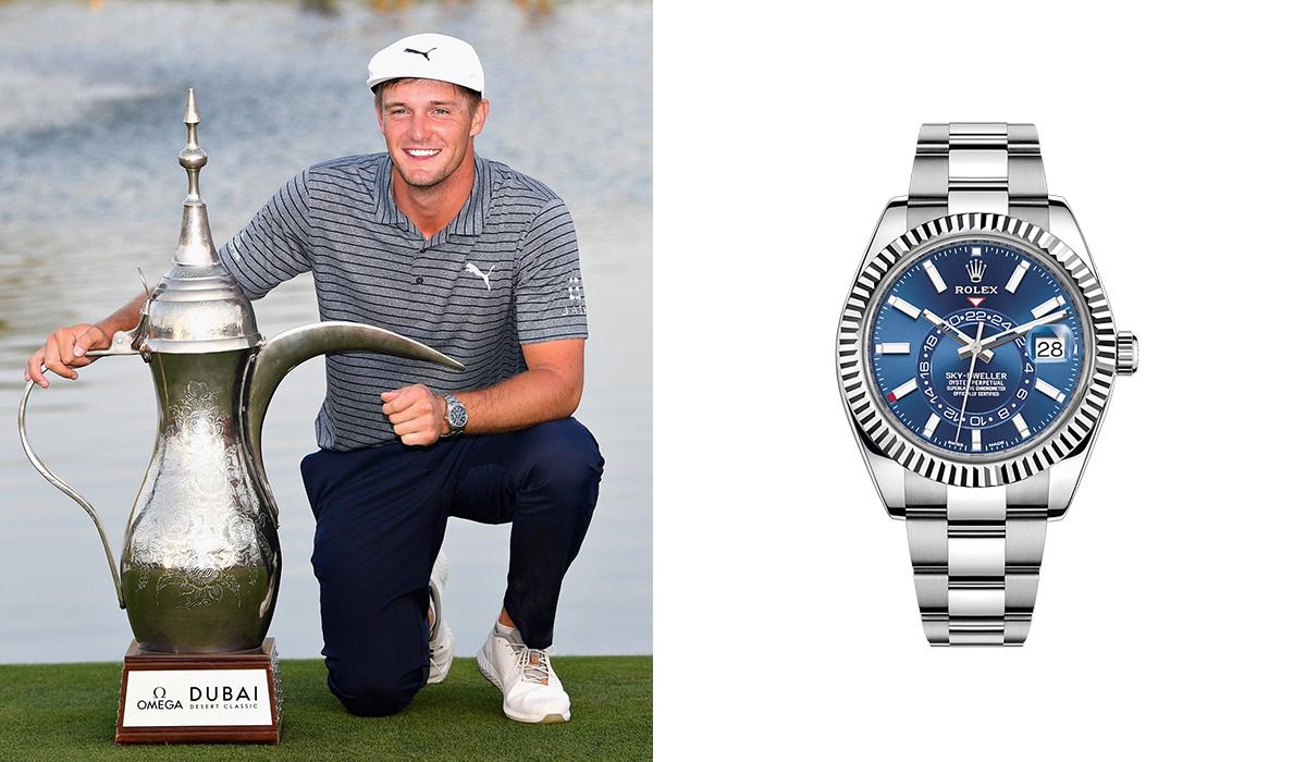Bryson DeChambeau - Rolex Sky-Dweller - Watches