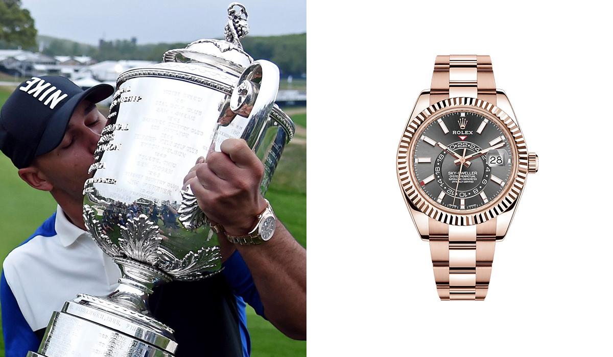 Brooks Koepka - Rolex Sky-Dweller - Watches