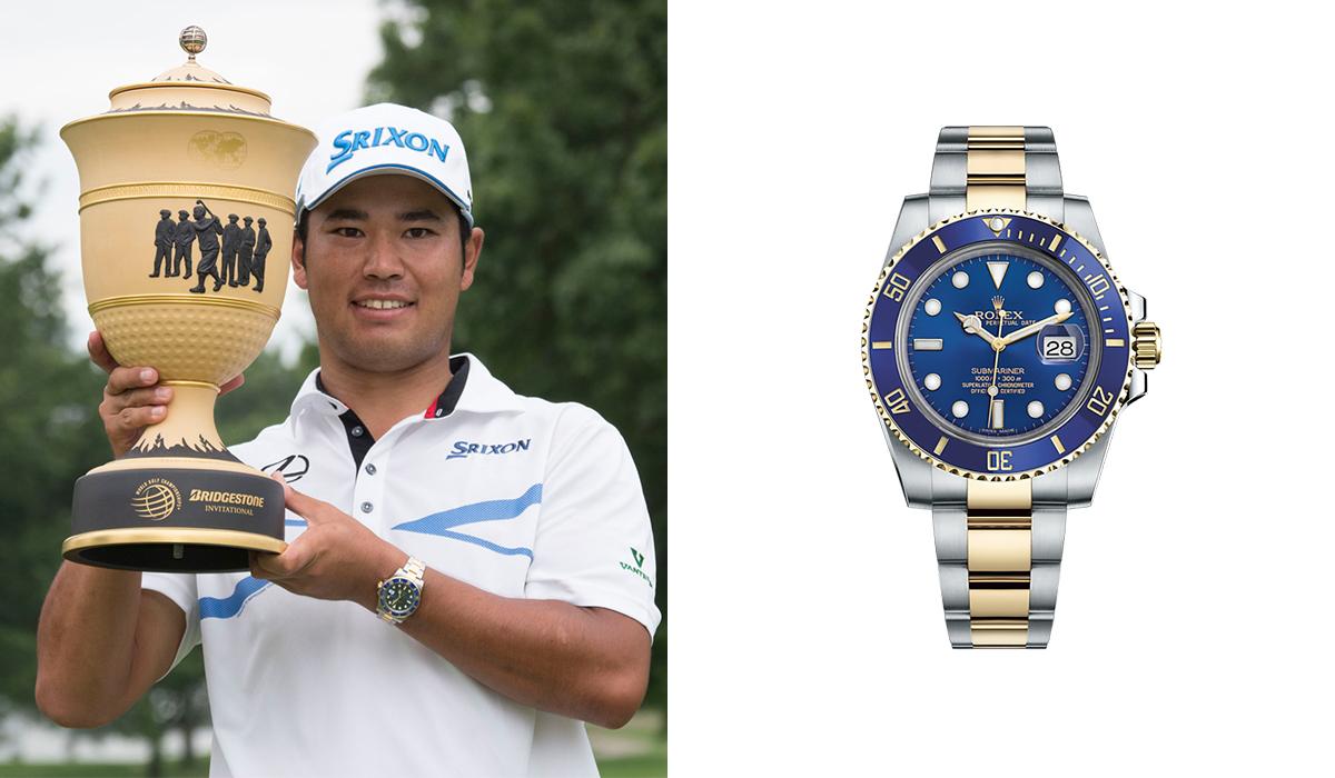 Hideki Matsuyama - Rolex Submariner - Watches