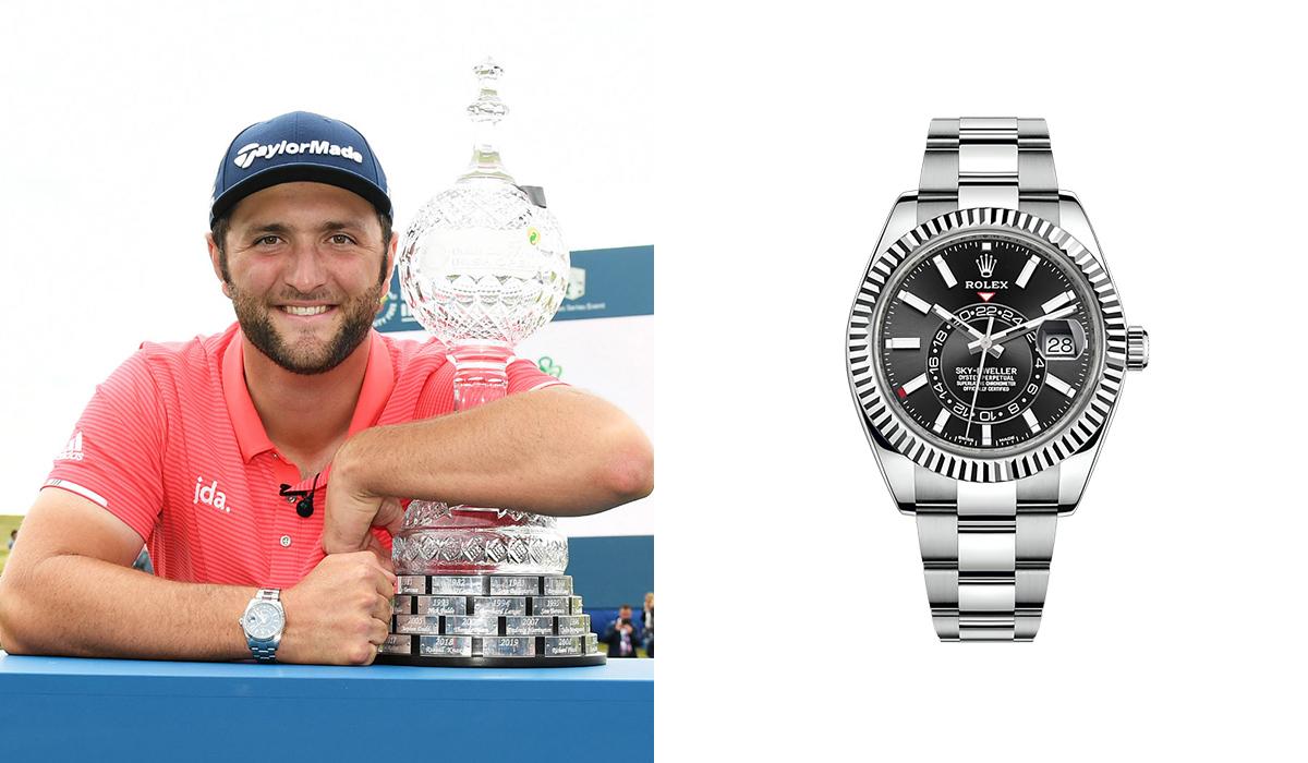 Jon Rahm - Rolex Sky-Dweller - Watches