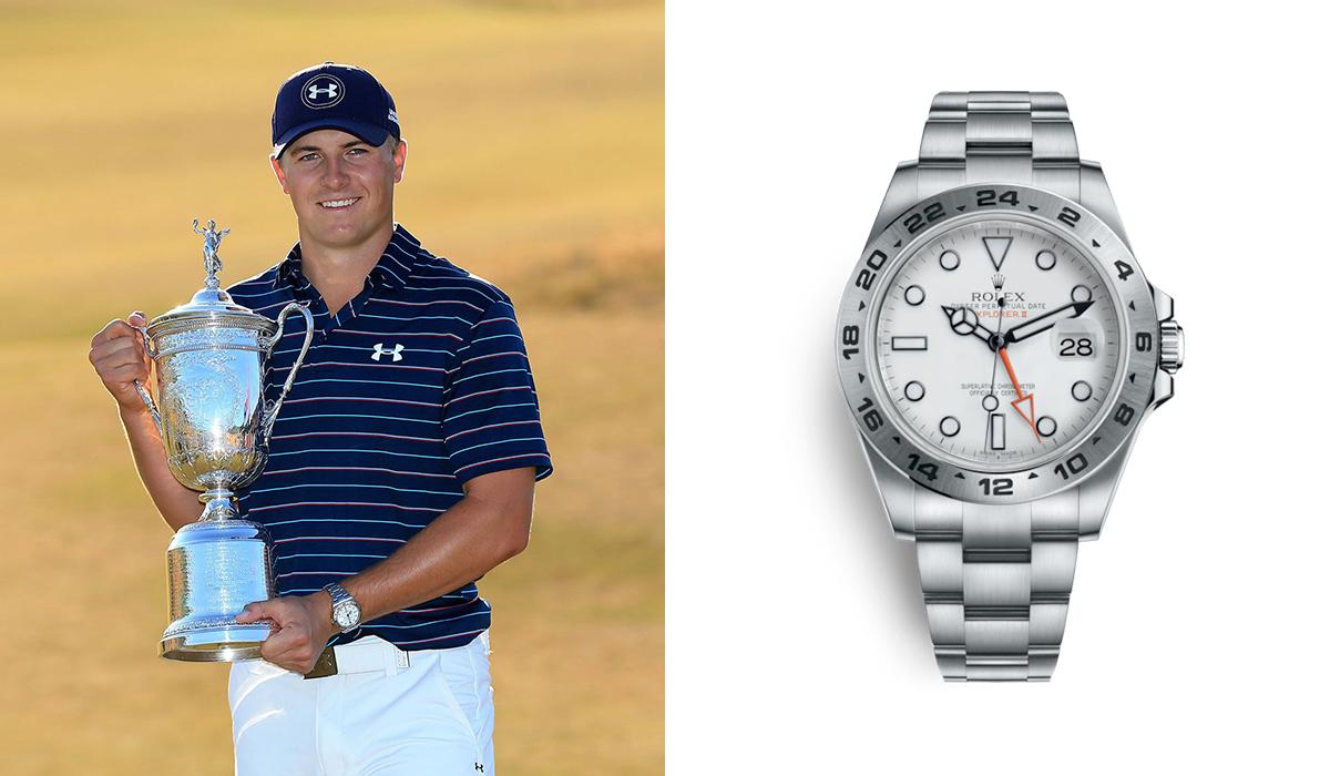 Jordan Spieth - Rolex Explorer II - Watches