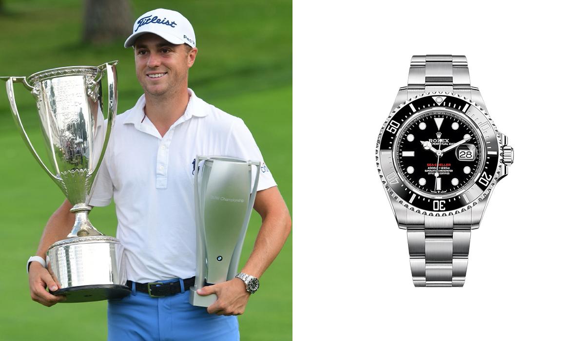 Justin Thomas - Rolex Sea-Dweller - Watches
