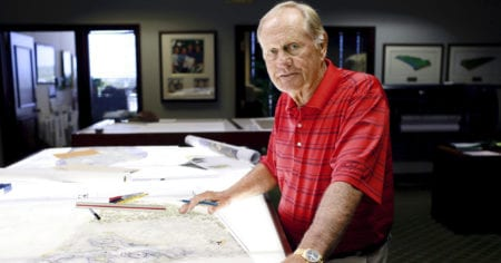 Golf: Jack Nicklaus portrait