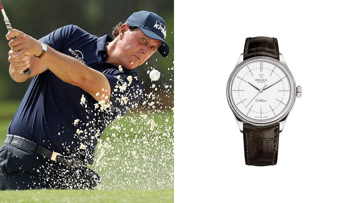 Phil Mickelson - Rolex Cellini - Watches