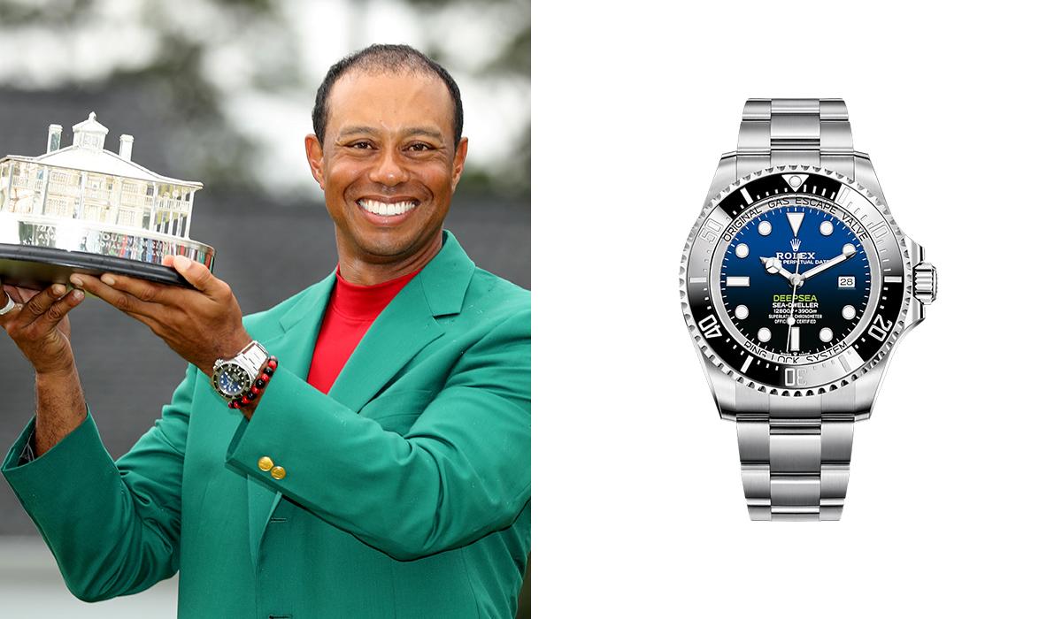 Tiger Woods - Rolex Sea Dweller Deepsea - Watches