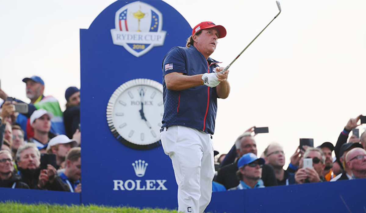 Phil Mickelson Ryder Cup Rolex
