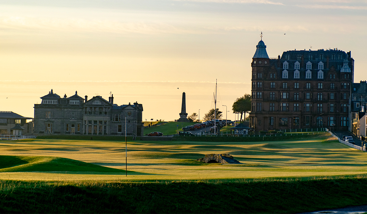 St Andrews - Old Course Hole 18